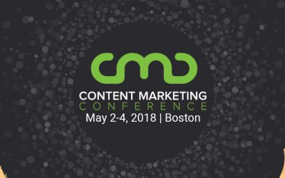 Content Marketing Conference 2018—Here We Come!