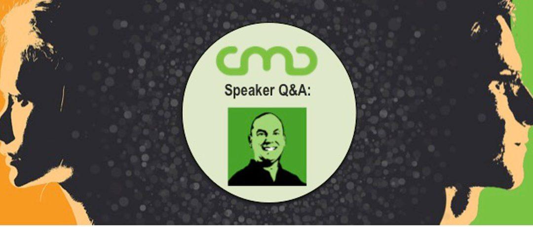 #CMC18 Speaker Q&A: Arnie Kuenn
