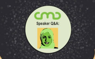 #CMC18 Speaker Q&A: Ayat Shukairy