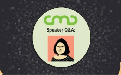 #CMC18 Speaker Q&A: Inbar Yagur