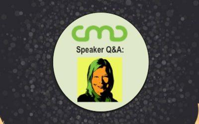 #CMC18 Speaker Q&A: Jenn LeBlanc