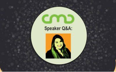 #CMC18 Speaker Q&A: Lindsay Marder