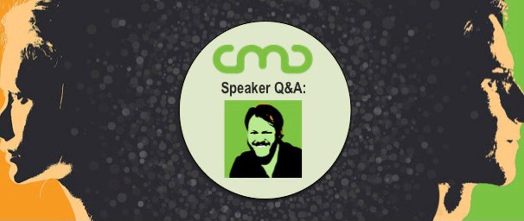 #CMC18 Speaker Q&A: Mike Roberts