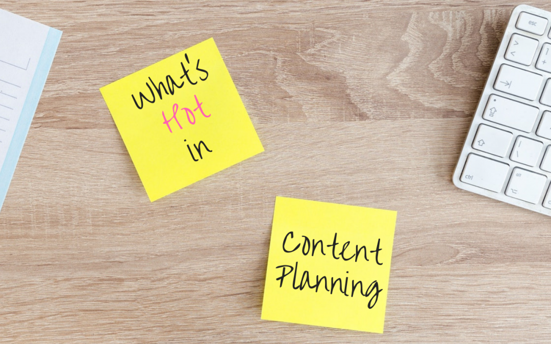 What's Hot in Content Planning? The Need for Speed (Page Speed, That Is)
