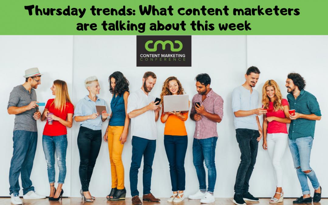 Thursday Trends 1/31/19
