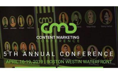 Must-See Events at the Content Marketing Conference (CMC2019)