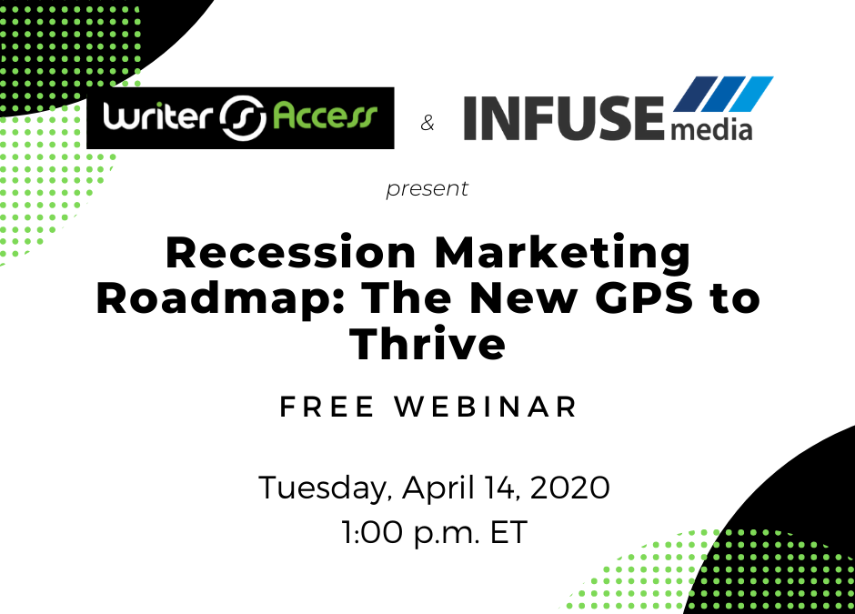 Join the Webinar: Recession Marketing Roadmap