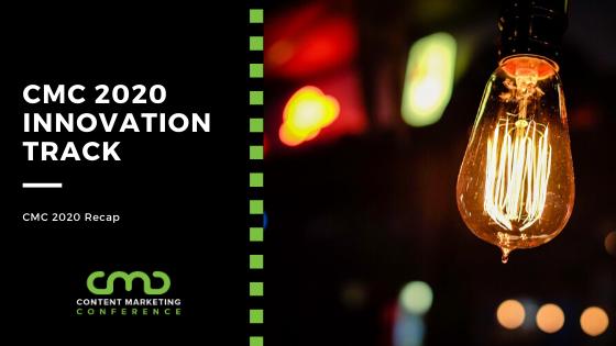 CMC 2020 Recap: Innovation