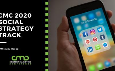 CMC 2020 Recap: Social Strategy