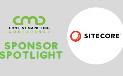 CMC 2021 Sponsor Spotlight: Sitecore